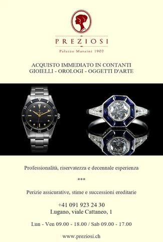 Acquisto vendita permuta oro gioielli orologi diamanti arte