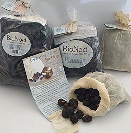 Noci del sapone vegetale e naturale per bimbi