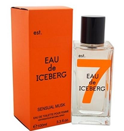 Profumo sensual musk della iceberg da donna