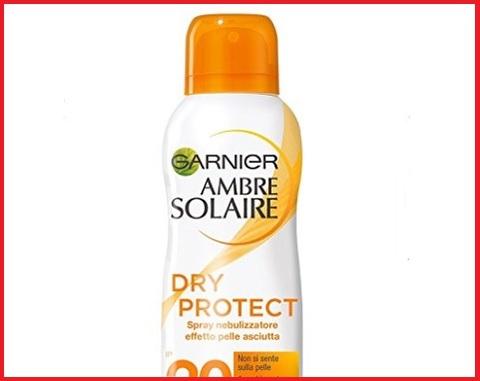 Protezione Solare Spray Trasparente