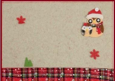 Tovagliette americane natalizie