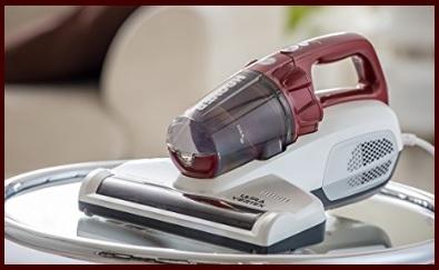 Aspirapolvere Acari UV Portatili Divani Cuscini Battimaterasso Antiacaro Vibrazioni Ad Alta Frequenza E Filtrazione Hepa Per Effetto Delleliminazione Di Oltre Il 99,9/% Di Acari Per I Tappeti