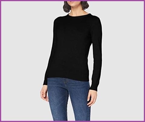 Pullover donna nero