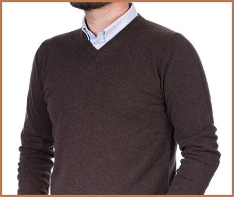 Pullover uomo cashmere