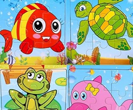 Puzzle bambini 5 anni