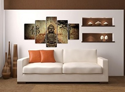 Pannelli stampa artistica del buddha