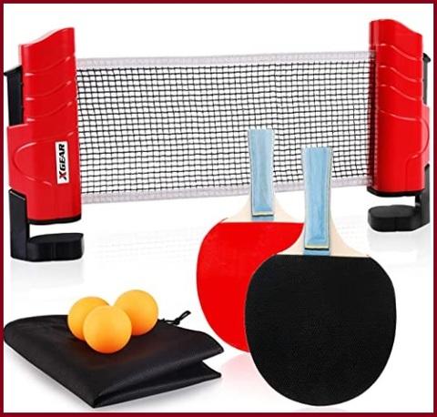 Racchette ping pong con rete