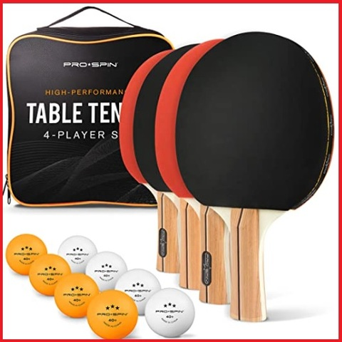 Racchette ping pong pro spin
