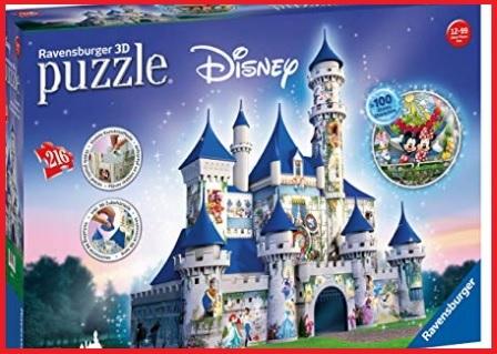 Ravensburger puzzle 3d castello disney