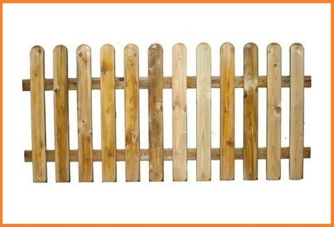 Recinzione in legno per esterni