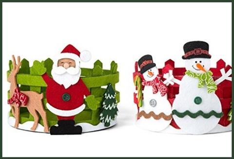 Cestino Apple Box Per Natale