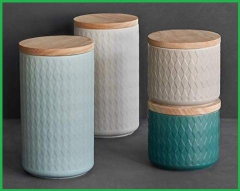 Contenitore in ceramica porta dolci natalizi