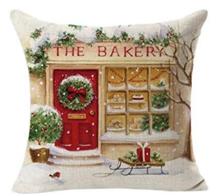 Cuscino natalizio decorativo per la casa