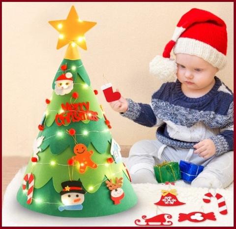 Kit alberi di natale 3d per bambini