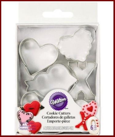 Decorazioni san valentino pasta di zucchero
