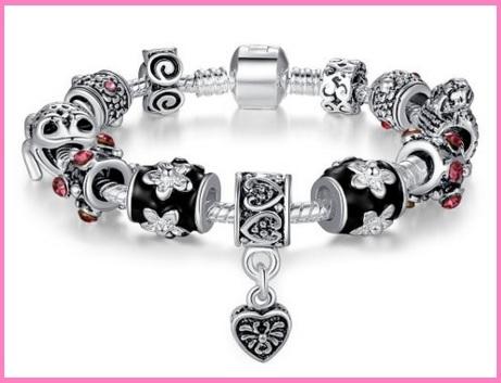 Bracciali argento san valentino