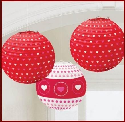Addobbi palloncini san valentino