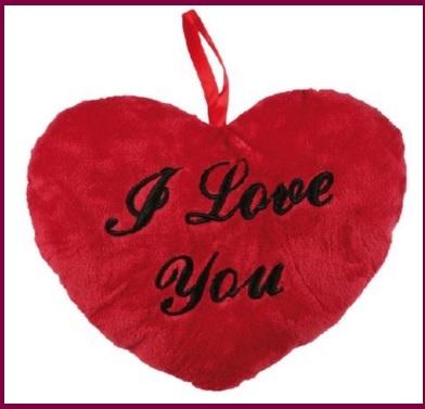 Cuscini cuore san valentino