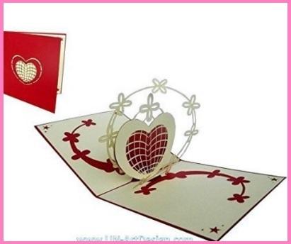 Biglietto san valentino auguri