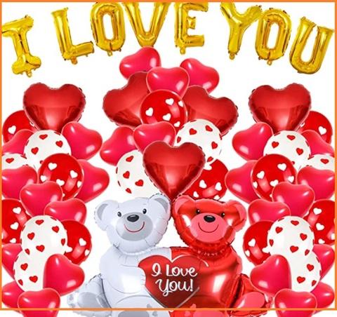 Addobbi san valentino con palloncini