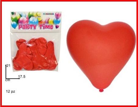 Decorazioni con palloncini per san valentino