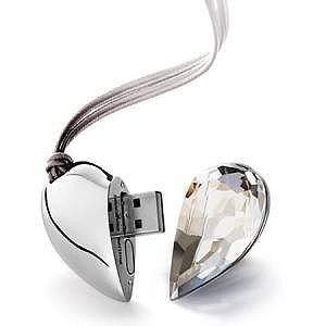 Chiave usb flash-drive memory stick 8g cuore san valentino