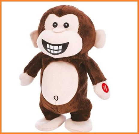 Peluche scimmietta con cuore love idea regalo san valentino