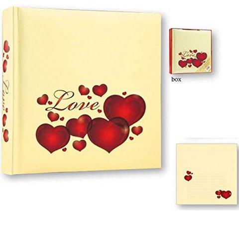 San valentino con scritta love 30 fogli 24 x 24 portafoto