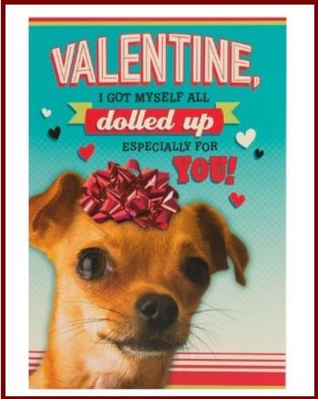 Biglietto san valentino simpatico