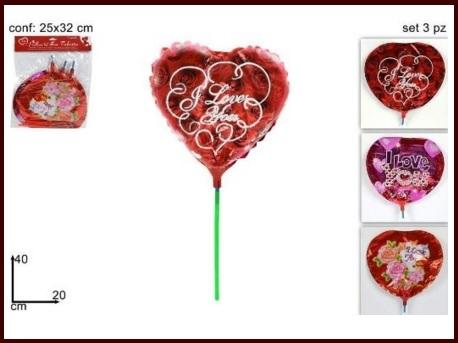 Allestimenti con palloncini san valentino
