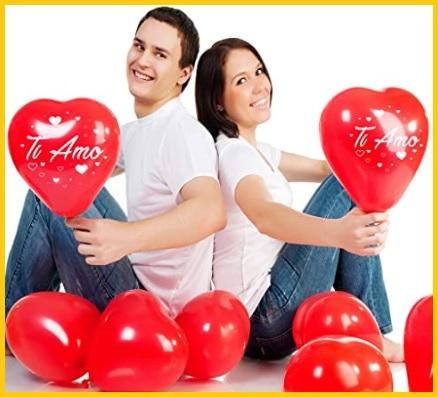 Sorpresa San Valentino Con Palloncini