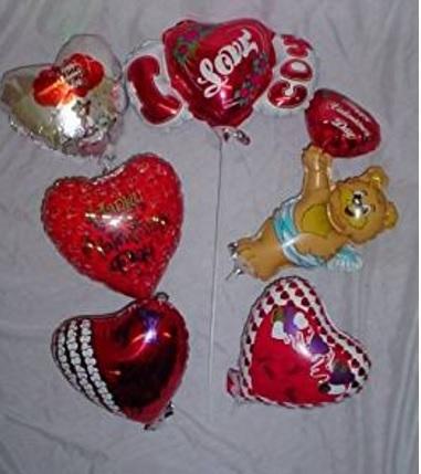Kit palloncini vari per san valentino