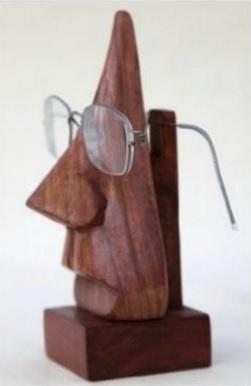 Porta Occhiali Statuetta Elegante Etnica