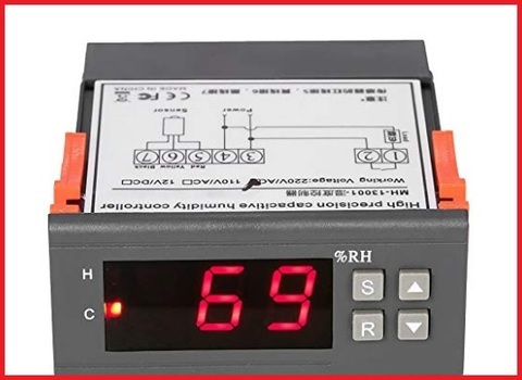 Regolatore umidità digitale con display led