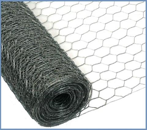 Rete zincata esagonale