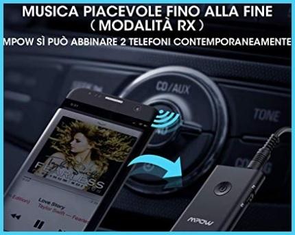 Ricevitore Bluetooth Auto Microfono
