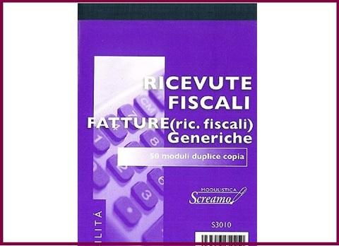 Ricevute Fiscali Generiche