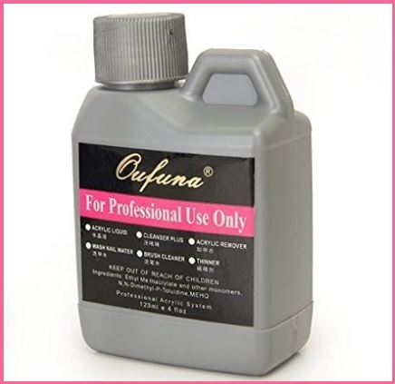 Liquido acrilico per unghie