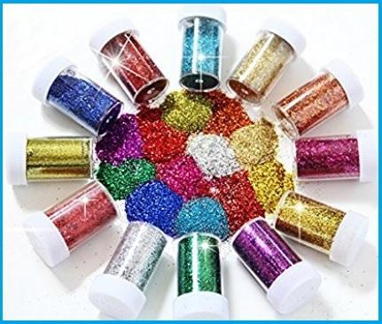 Glitter polvere per decorazioni