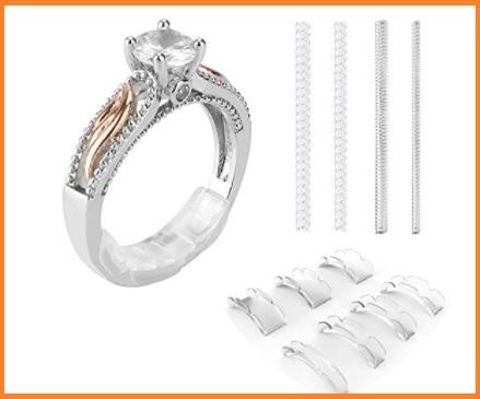 Riduttore anello argento invisibile