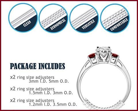 Riduttore argento anelli protettivo