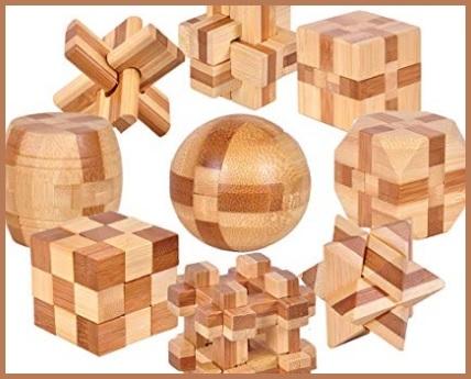 Rompicapo in legno