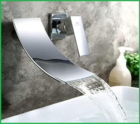 Miscelatore rubinetto da parete moderno rame cromato | Grandi Sconti ...