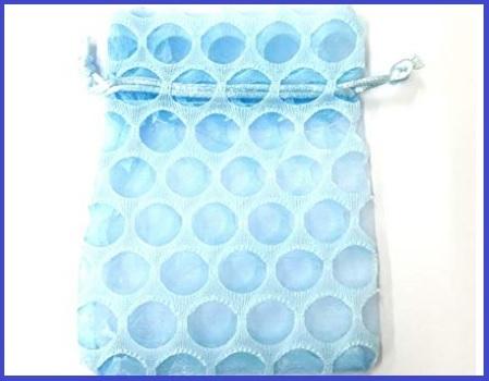 Sacchetto Confetti Azzurro