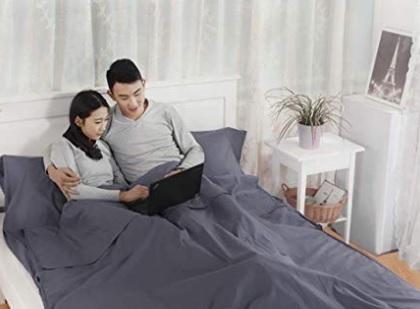 Sacchi a pelo matrimoniali cotone