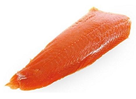 Salmone preaffettato norvegese affumicato