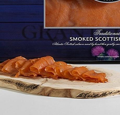 Salmone affumicato scozzese in vendita