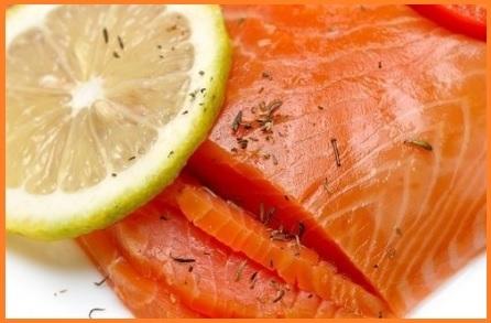 Salmone selvaggio affumicato norvegese