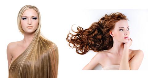 Exstension con capelli veri