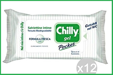 Salviette intime chilly